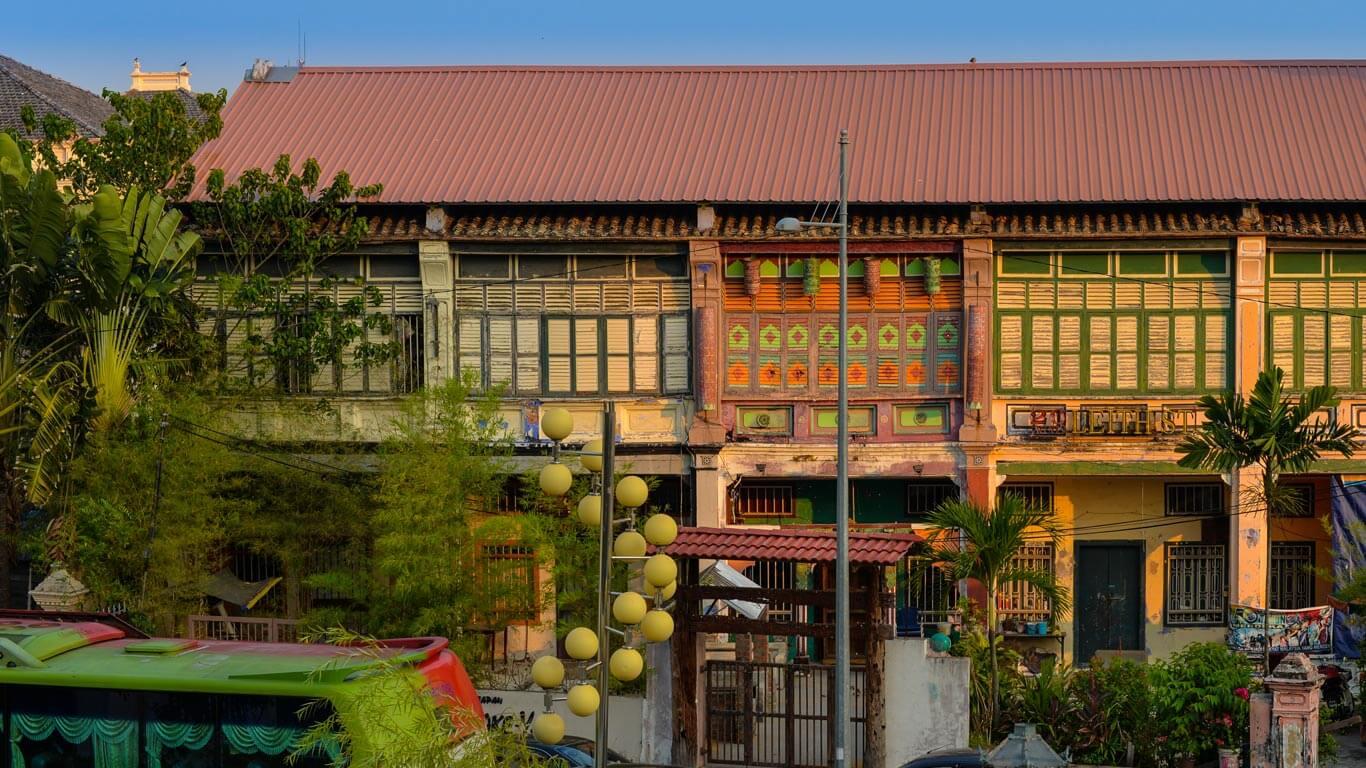 Malaysia Tour Chinese Townhouse