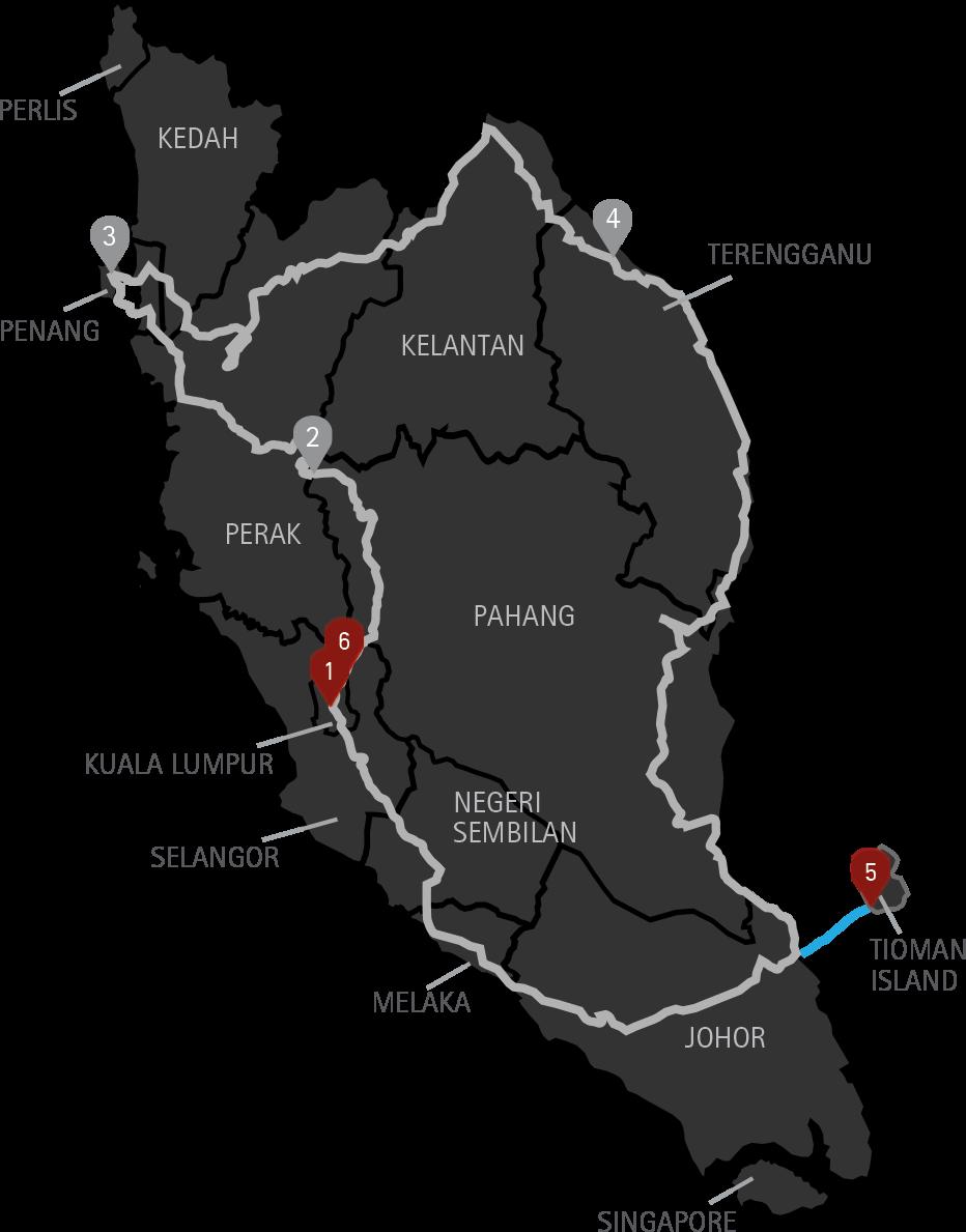 10 Days Malaysia Motorcycle Tour
