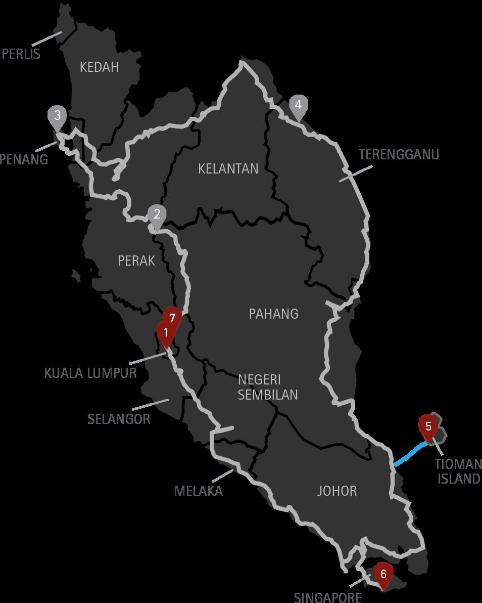Malaysia Singapore Motorcycle Tour